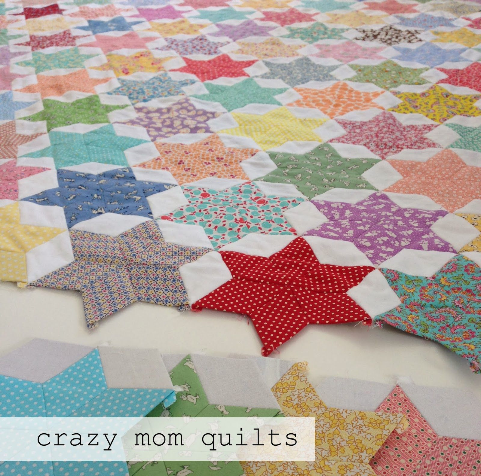 Diamond epp love this one crazy mom quilts almost - Patchwork ideen ...