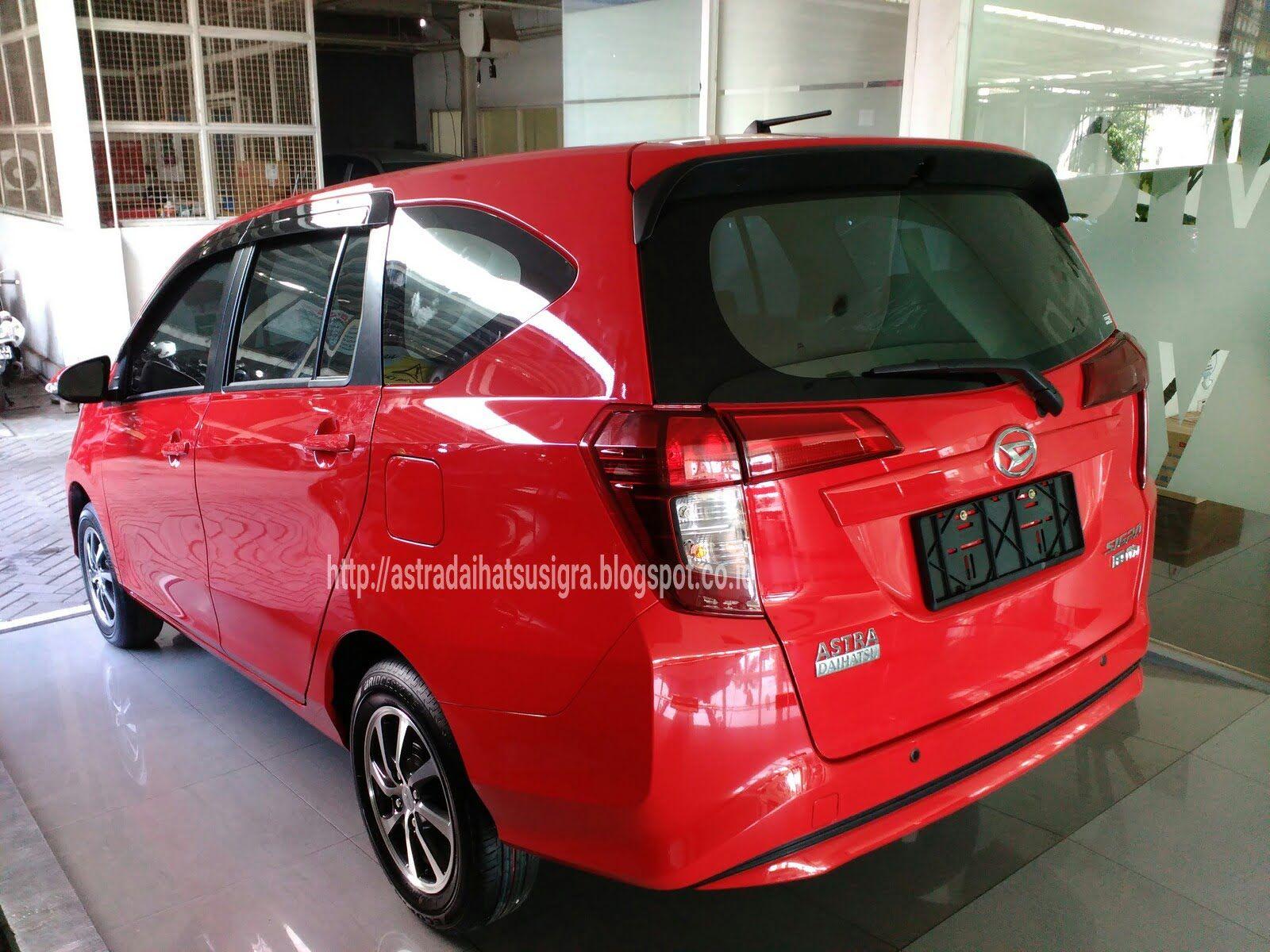 Modifikasi Mobil Sigra Warna Merah Modifikasi Mobil Daihatsu Mobil