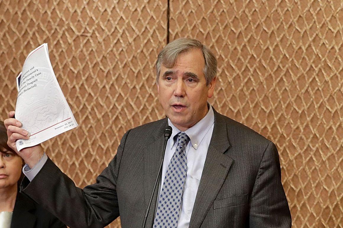 Merkley seeks injunction to stop Kavanaugh vote