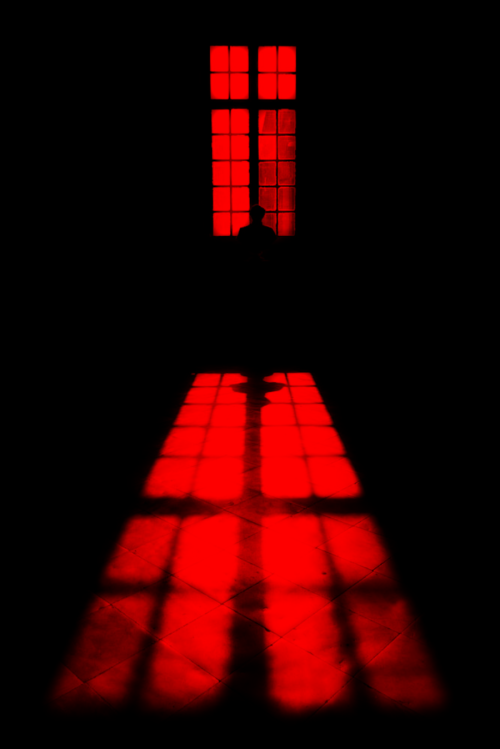 ˚someones At The Window Red Aesthetic Red Rooms