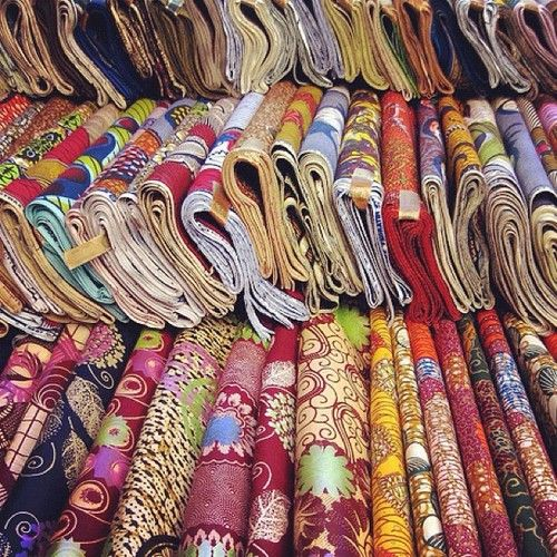 At the Market.Senegal | Fabrics Of West Africa | African ...