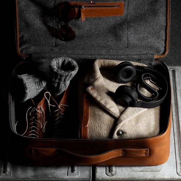 """Check out """"Carry On Suitcase by Hard Graft"""" decalz @Lockerz.com"""