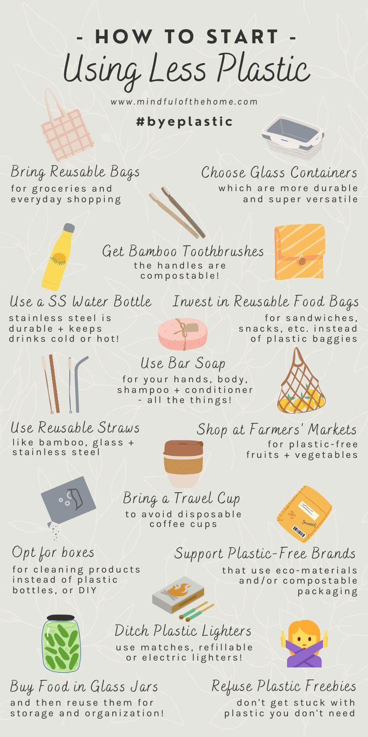 Want to learn how to use less plastic? These tips will help you reduce plastic waste and start living a more eco-friendly lifestyle today.