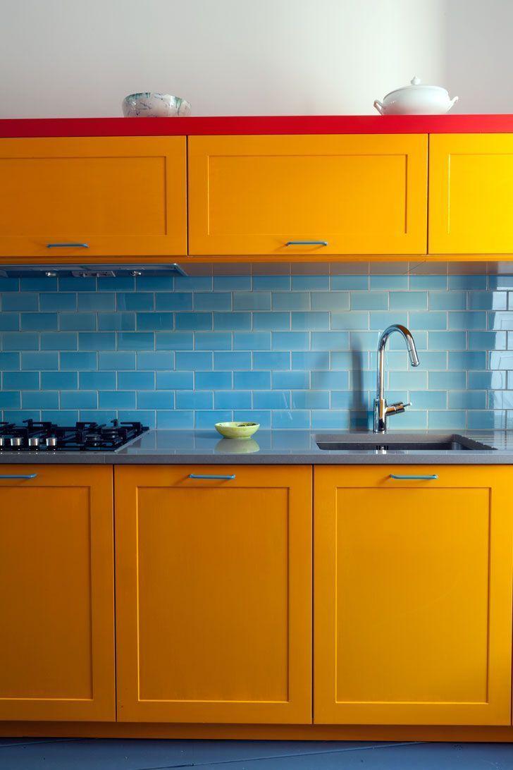 MetroFliesen Im Küchendesign Kitchen Pinterest
