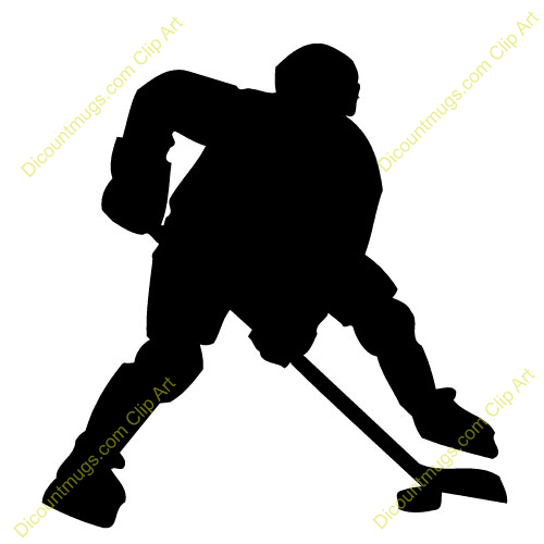 Ice Hockey Player Clip Art | Hockey | Pinterest | Search, Art and ...