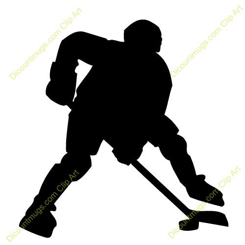 Ice Hockey Player Clip Art | Hockey | Pinterest | Search, Art and ...