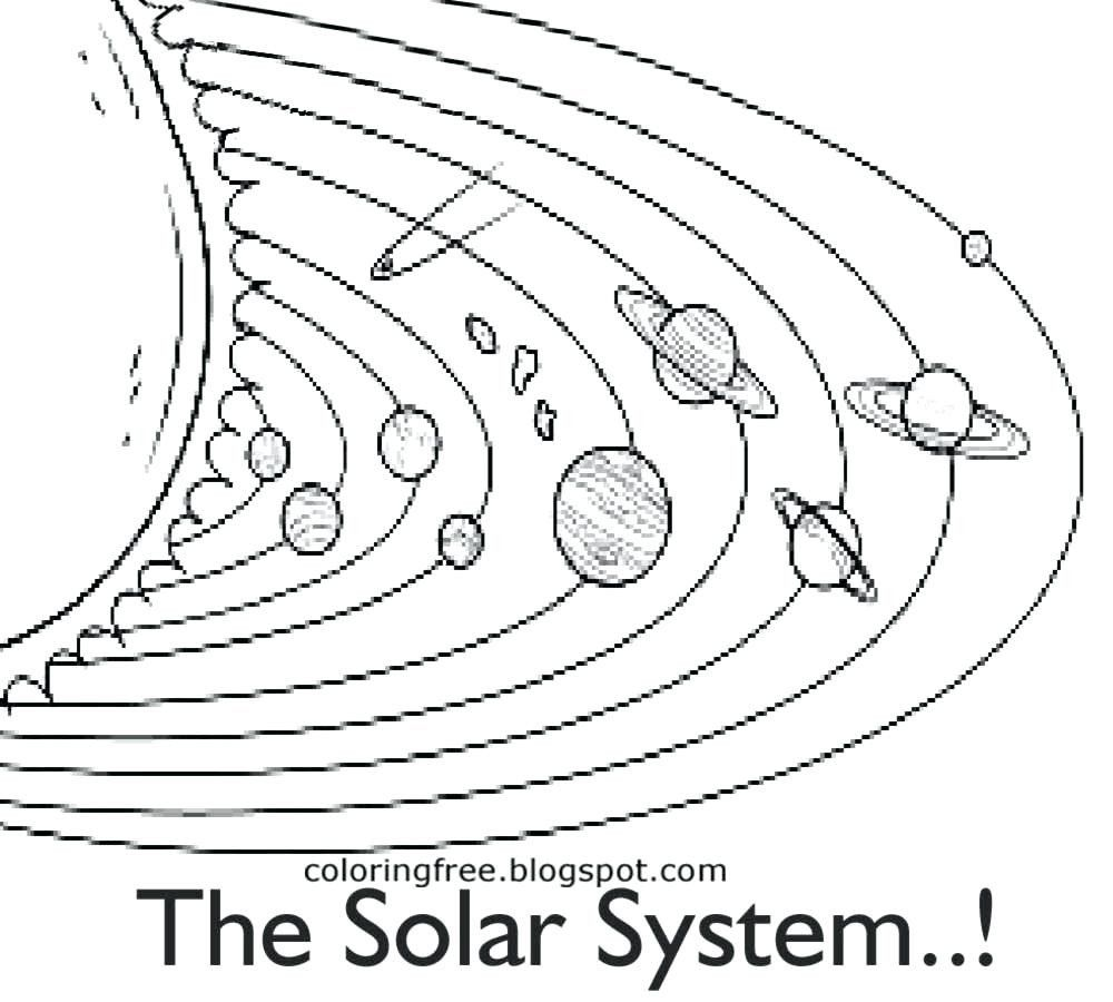 Solar Eclipse Coloring Page Lovely Free Printable Solar System