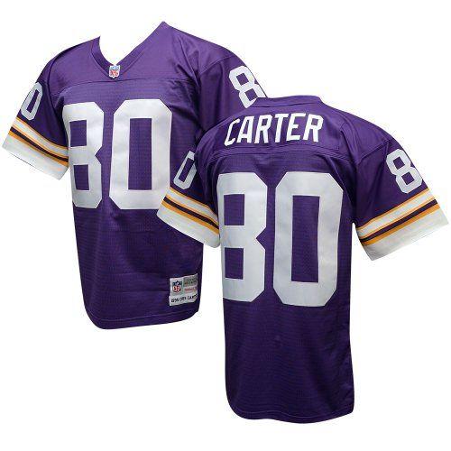 hot sale online f7175 4becc Cris Carter Minnesota Vikings Replica Jersey | Cool ...