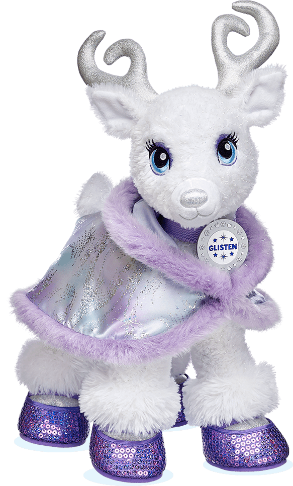 Merry Mission At Build A Bear Purple Teddy Bear Build A Bear Reindeer Build A Bear