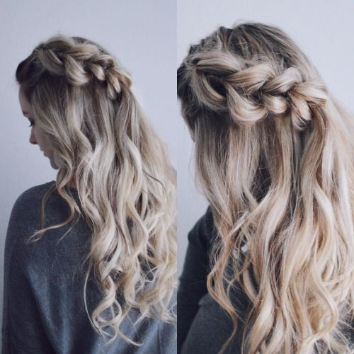 Braided Hairstyles For Curly Hair Picture3 Curly Hair Styles Naturally Curly Hair Styles Natural Hair Styles Easy