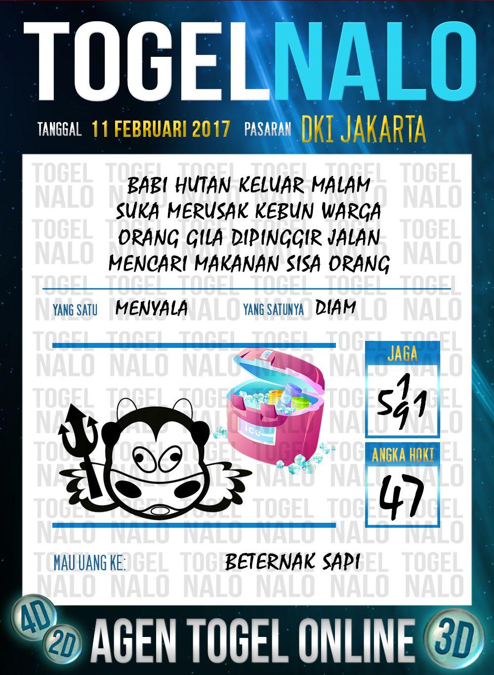 Acak Kodal 4d Togel Wap Online Live Draw 4d Togelnalo Dki Jakarta 11 Februari 2017 Januari 26 Januari 27 Januari