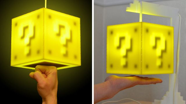 Touch Sensitive Coin Block Lamp Will Eventually Pay For Itself Right Touch Lamp Pendant Lamp Cool Stuff