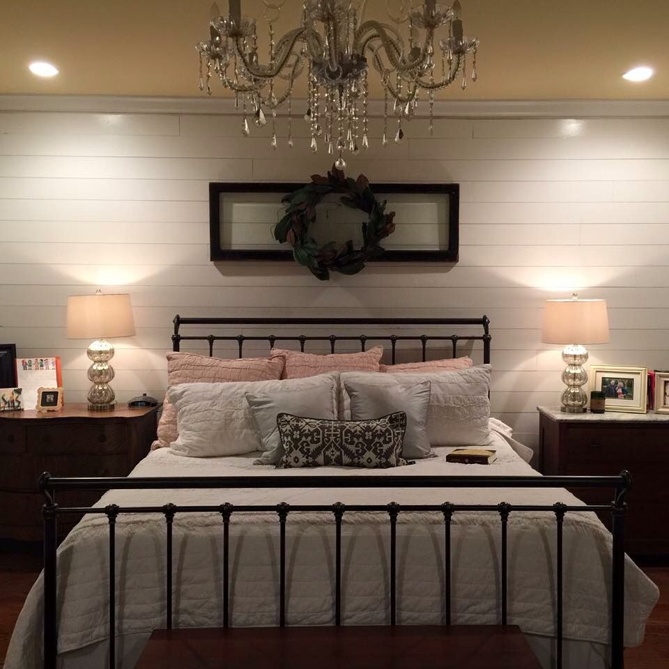 Accent wall paint ideas bedroom  Ship Lap as an accent wall More  Decor  Pinterest  Ship lap