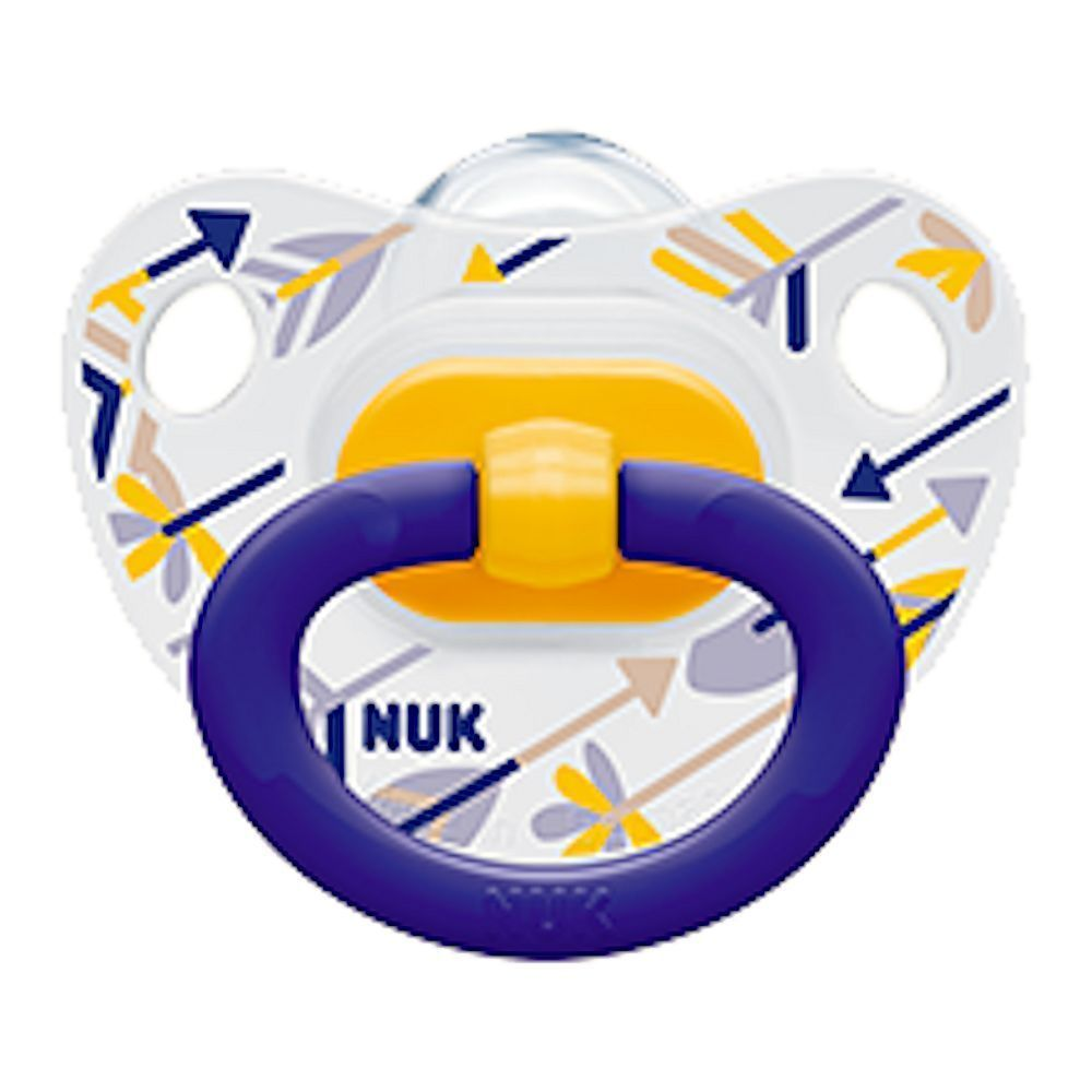 NUK LATEX ORTHODONTIC SOOTHER//DUMMY SIZE 3 18-36 MTHS BOY GIRL UNISEX TODDLER