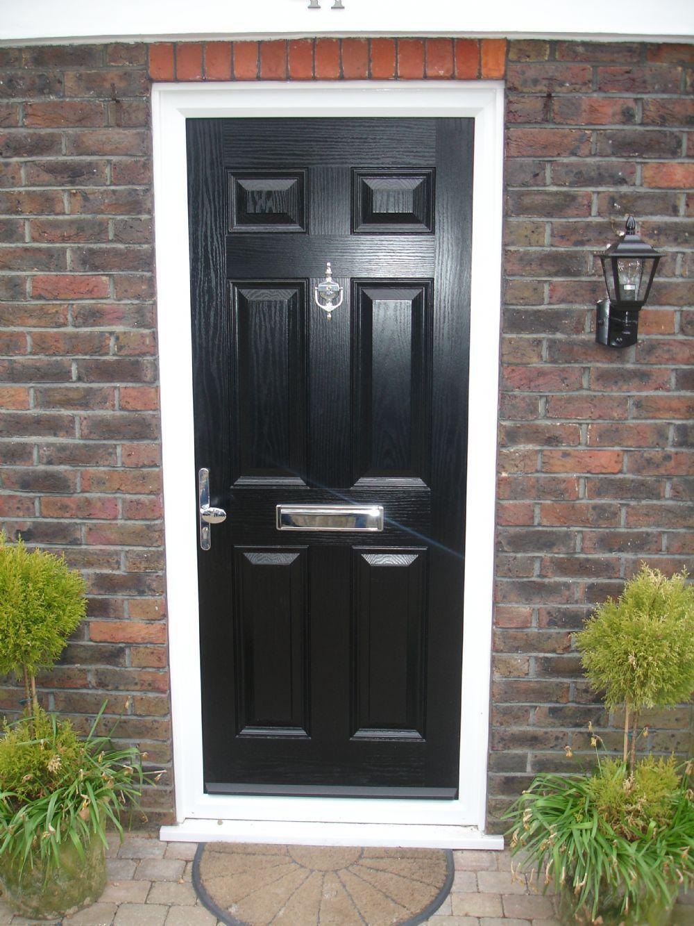 Black front door ideas wooden front doors black front doors and