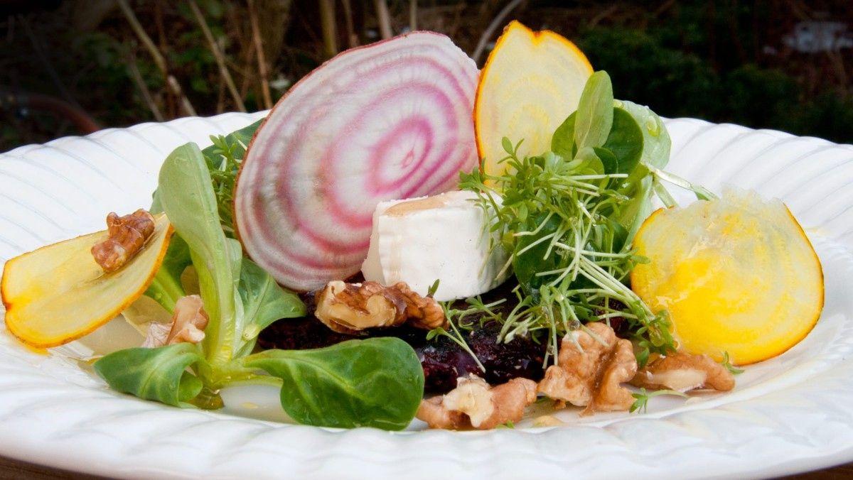 Rødbetsalat - Hygge i hagen