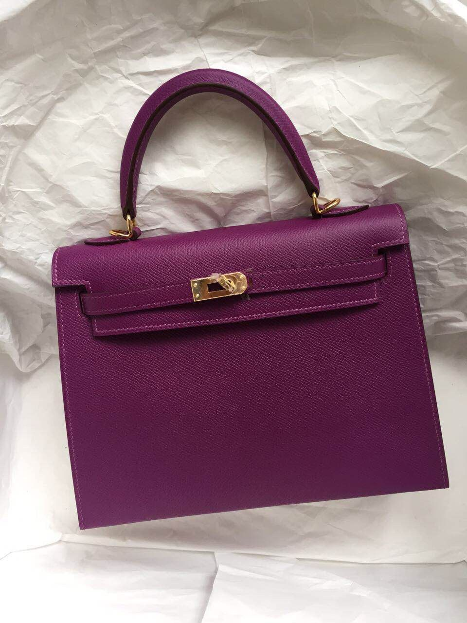 8c6f6c39085 Image result for purple epsom sellier hermes kelly   My Style ...