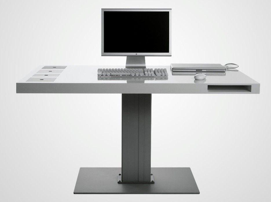 Stylish Minimalist Computer Desk Milk Wireless Minimalist Computer Desk Bidycandy Com Fur Desk Modern Design Contemporary Computer Desk Computer Desk Design