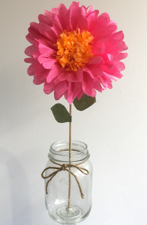 Tissue Paper Artsy Pinterest Paper Flower Centerpieces Tissue