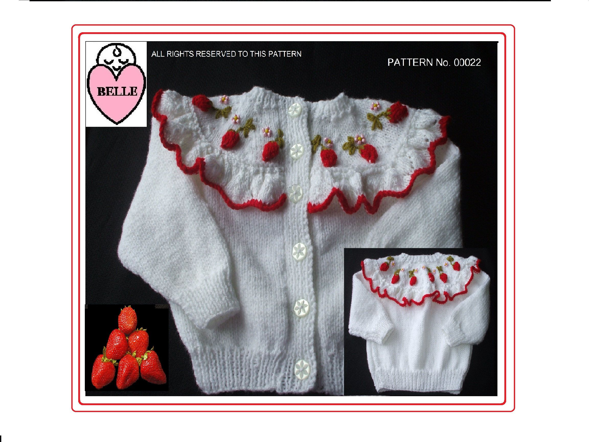Delightful Cardigan and Sweater pattern for sizes 6-12 and 12-24 ...
