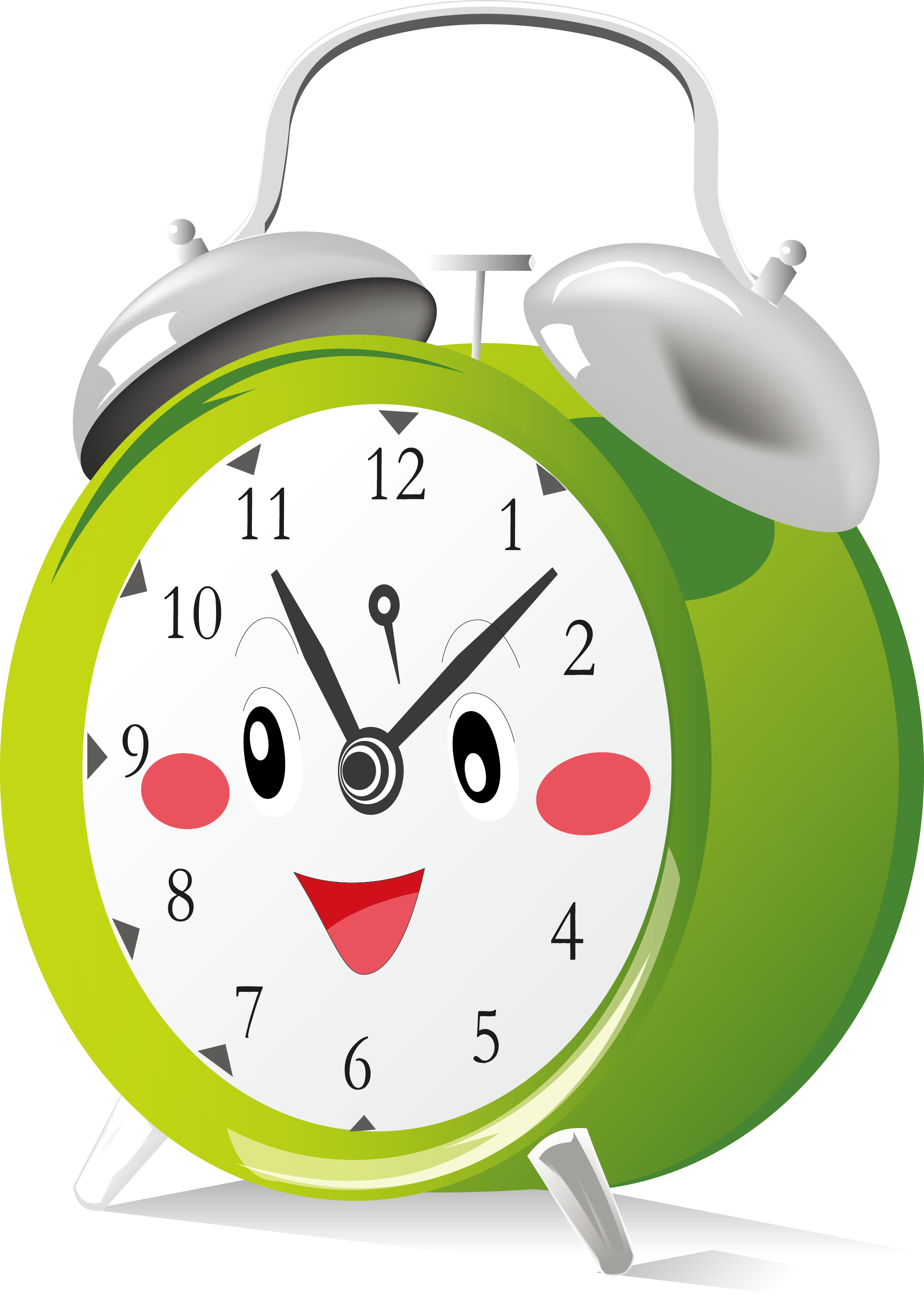 Mr Clock Is Friendly Clock Sort Of Like Tickety Tock Alarm Clock Clock Drawings Clock