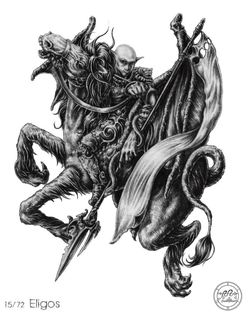 Review 72 Con Quỷ Của Vua Solomon - ELIGOR bài tarot