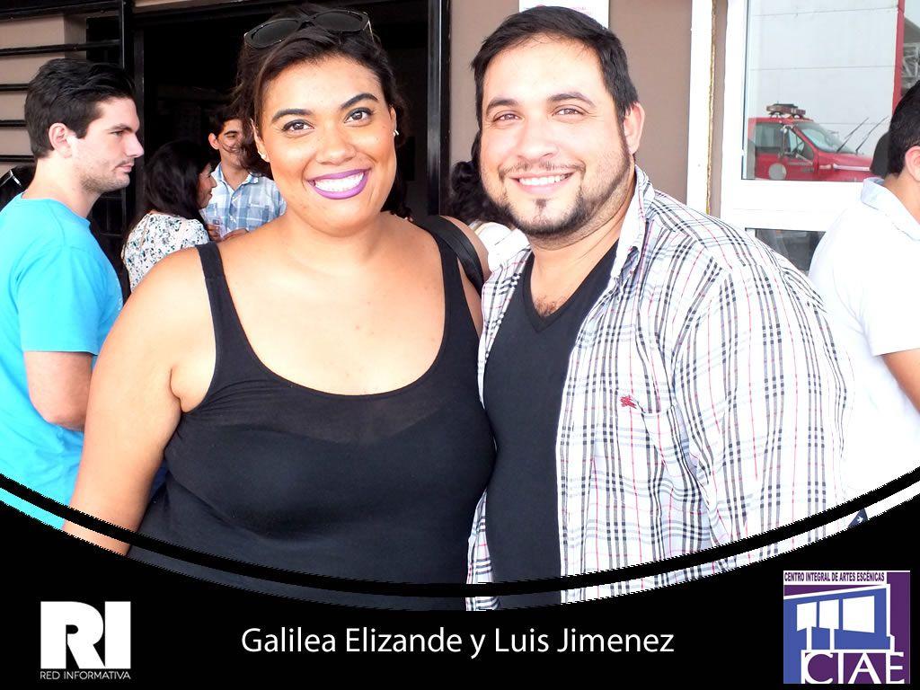 Galilea Elizande y Luis Jimenez