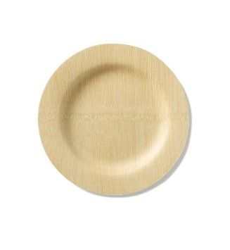 Amazon.com: Bambu 9-Inch All Occasion single use Veneerware Plates, Package of 8, Natural: Kitchen & Dining