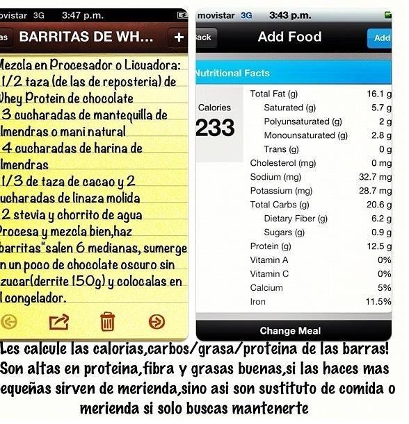 Sascha Barboza On Barritas Meriendas Saludables Y Barras De