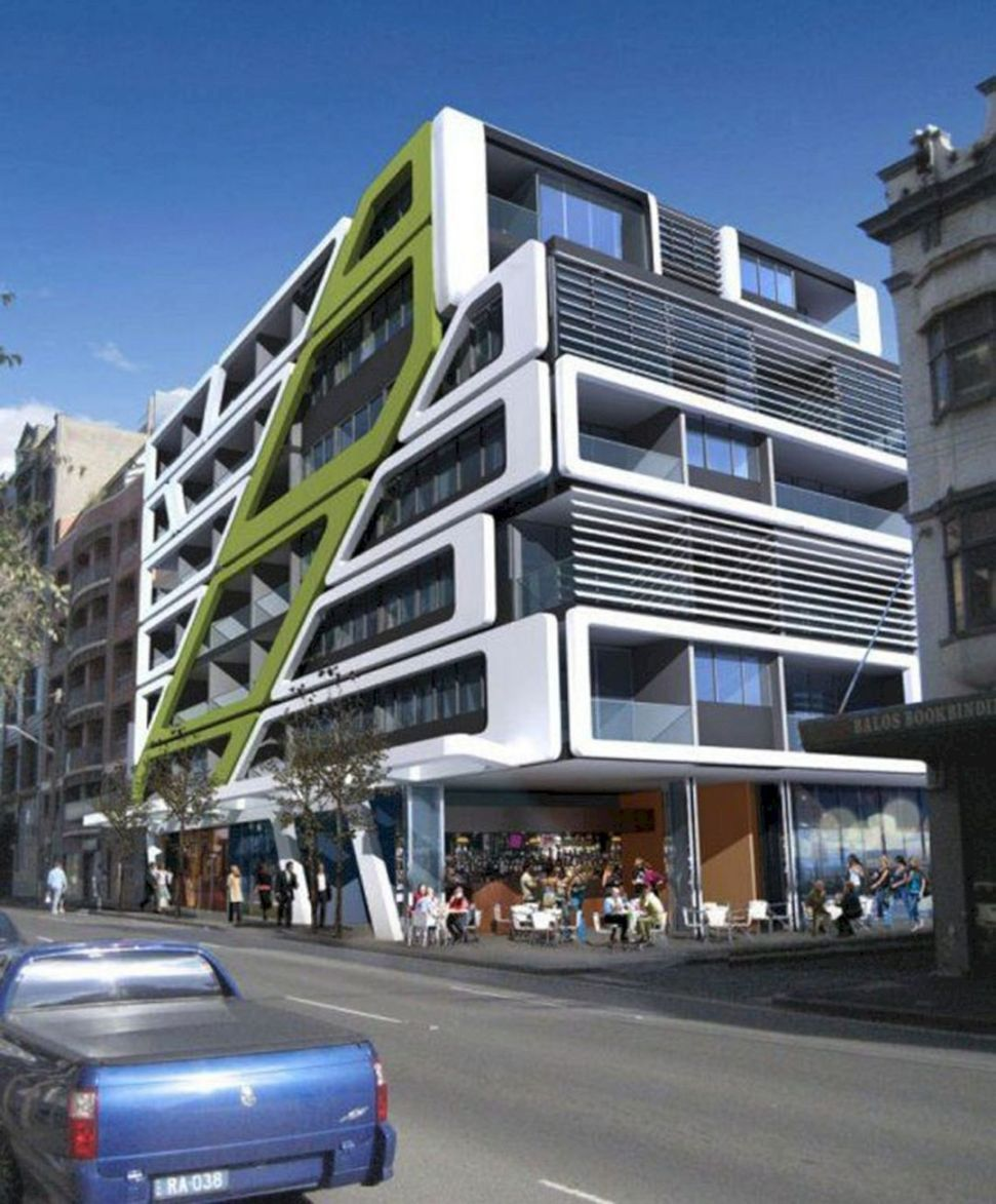 Modern Apartment Building Designs (Modern Apartment Building ...