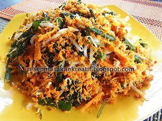 Resep Urap Sayuran Bumbu Kelapa Sangrai Kering Resep Masakan Resep Masakan Indonesia