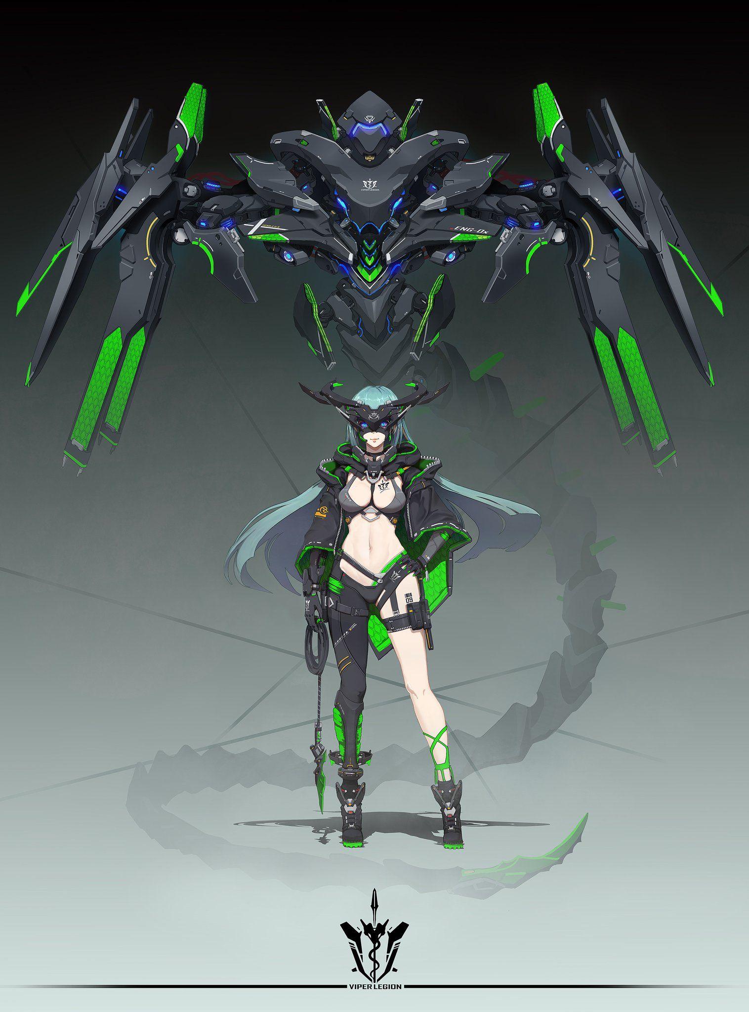 HENG Z on Robot concept art, Fantasy character design