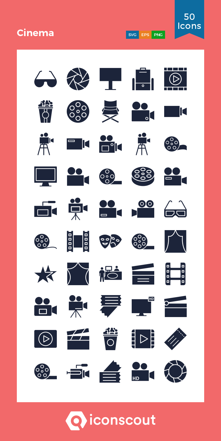 Download Cinema Icon Pack Available In Svg Png Eps Ai Icon Fonts Icon Pack Icon Glyph Icon