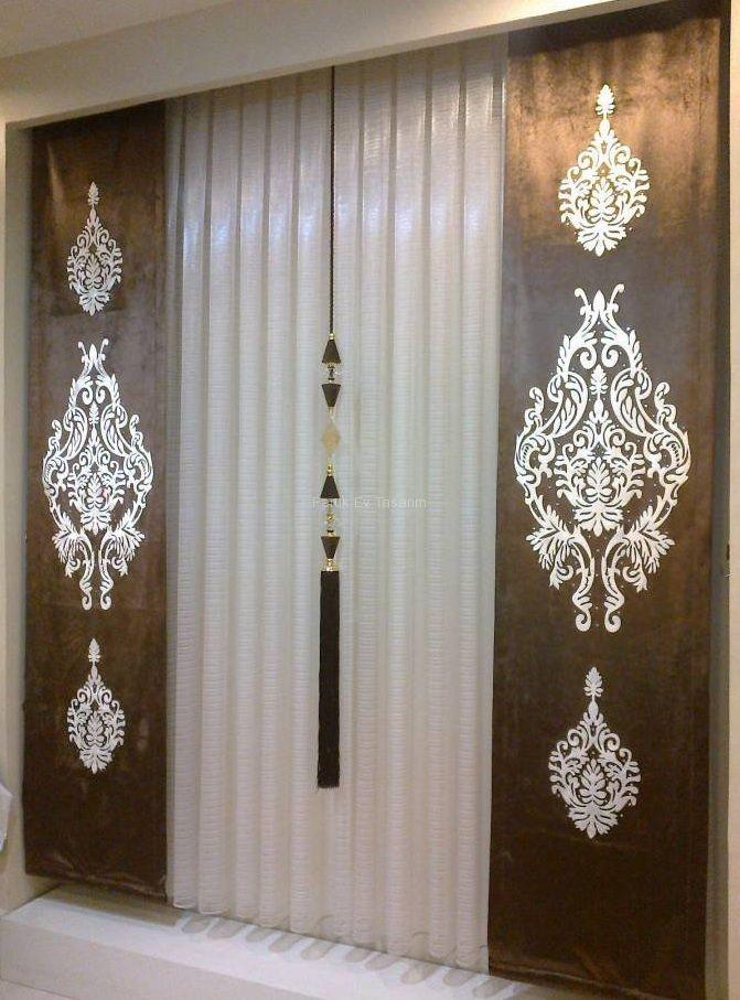 Yeni sezon tul perde modelleri cortinas pinterest for Cortinas marroquies