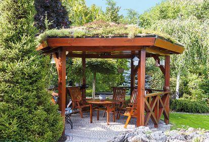 Altánok v záhrade - drobná stavba, ktorá prináša radosť