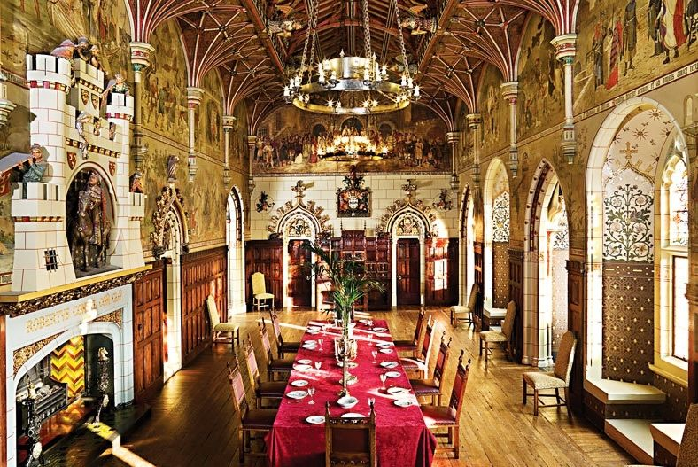 The Banquet Hall at Cardiff Castle. Designed by William Burges for the 3rd Marquess of Bute http://en.wikipedia.org/wiki/William_Burges