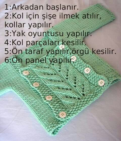 Pin De Sabriye Kara Em Yesil Trico Ideias