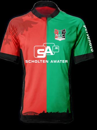 c5d7fbee6ed NEC Nijmegen 2014-15 Jako Home Shirt