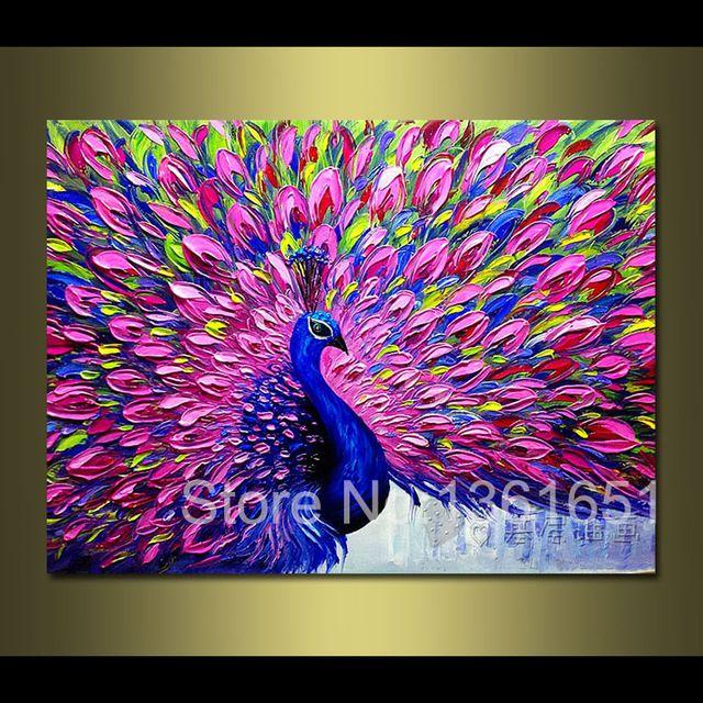 100 animales pintados a mano de pintura al leo abstracta - Ideas para pintar cuadros ...