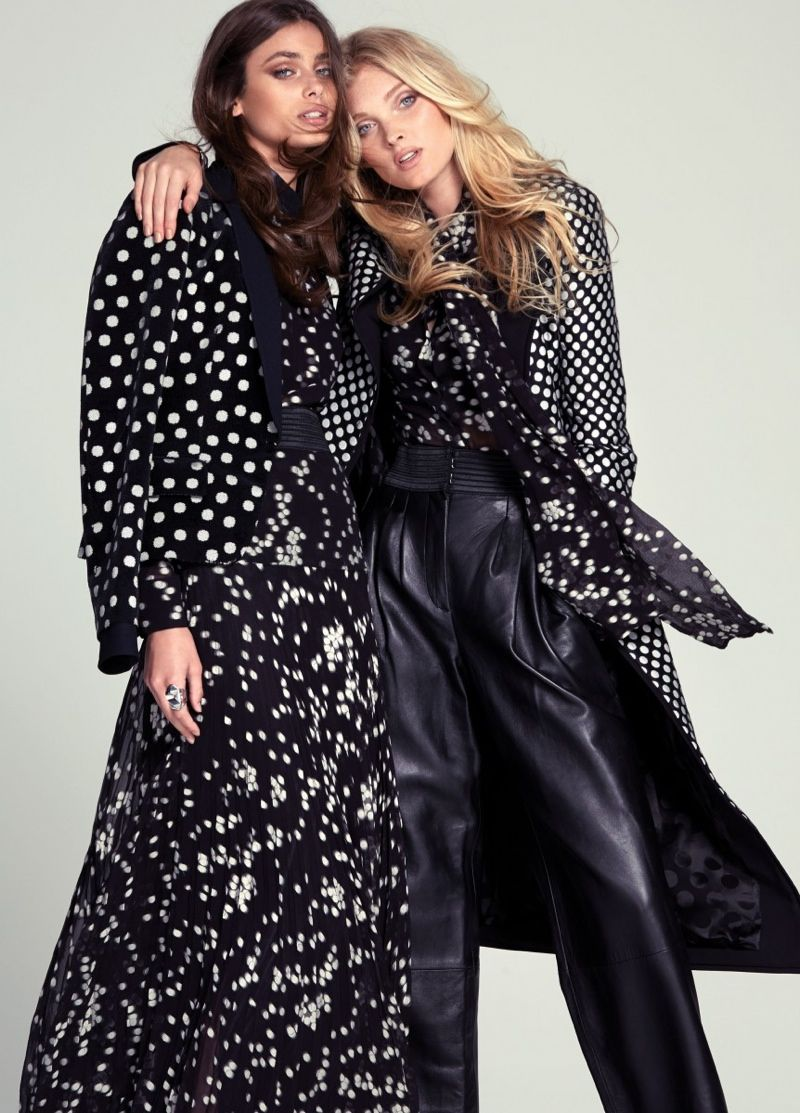 Elsa Hosk & Taylor Hill Are Double Stunners for FASHION Editorial