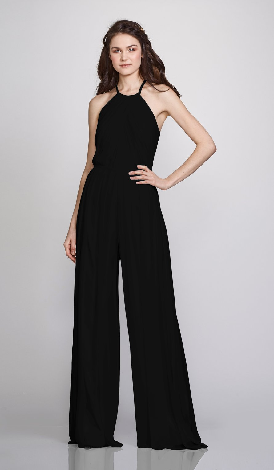 Theia Bridesmaid Jumpsuit Suzanne #bridesmaidjumpsuits Theia Bridesmaid Jumpsuit Suzanne | Bella Bridesmaids #bridesmaidjumpsuits