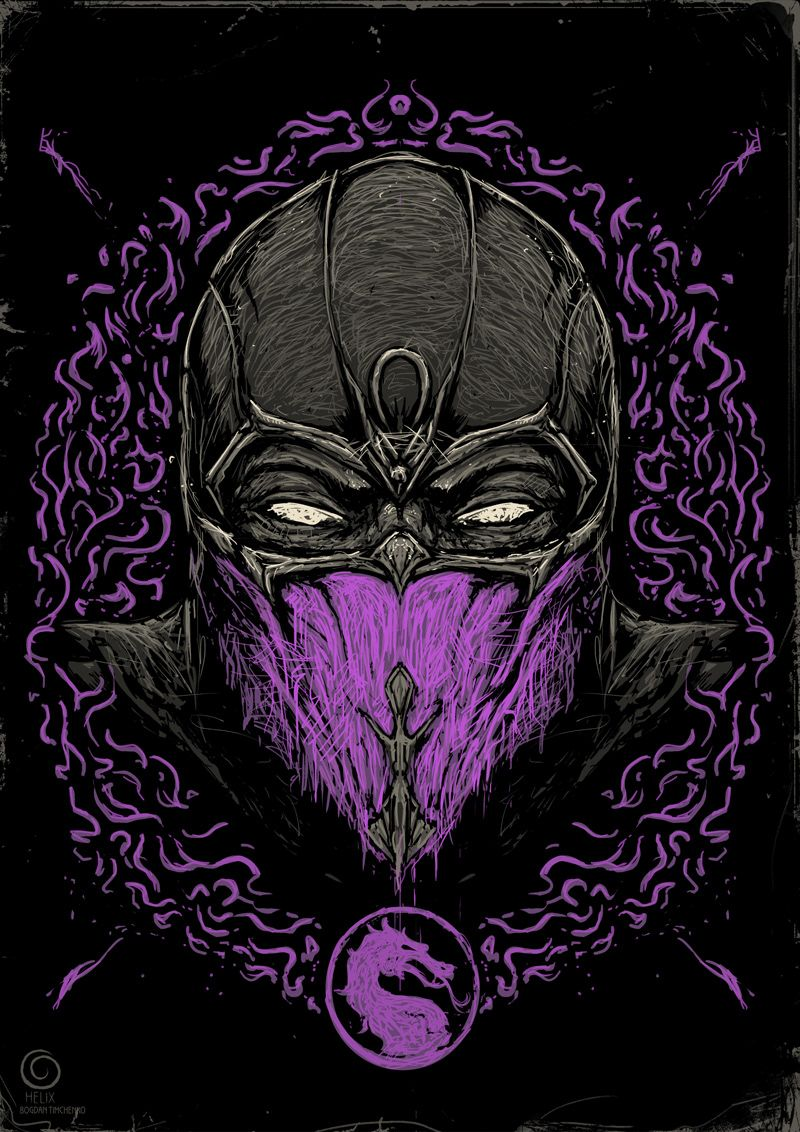 Mortal Kombat Ninjas on Behance Mortal kombat art
