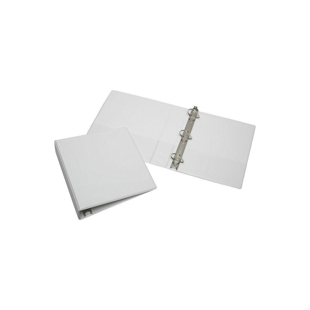 Skilcraft Slant D Ring View Binder 1 1 2 Binder Capacity Letter Sheet Size 1 Each White Binder Sheet Sizes Vinyl Cover