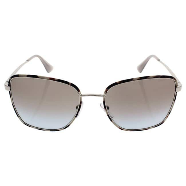 3fbb79ceffb11 Prada SPR 52S UAO-4S2 - Women s Opal Silver Light Grey Shaded Sunglasses