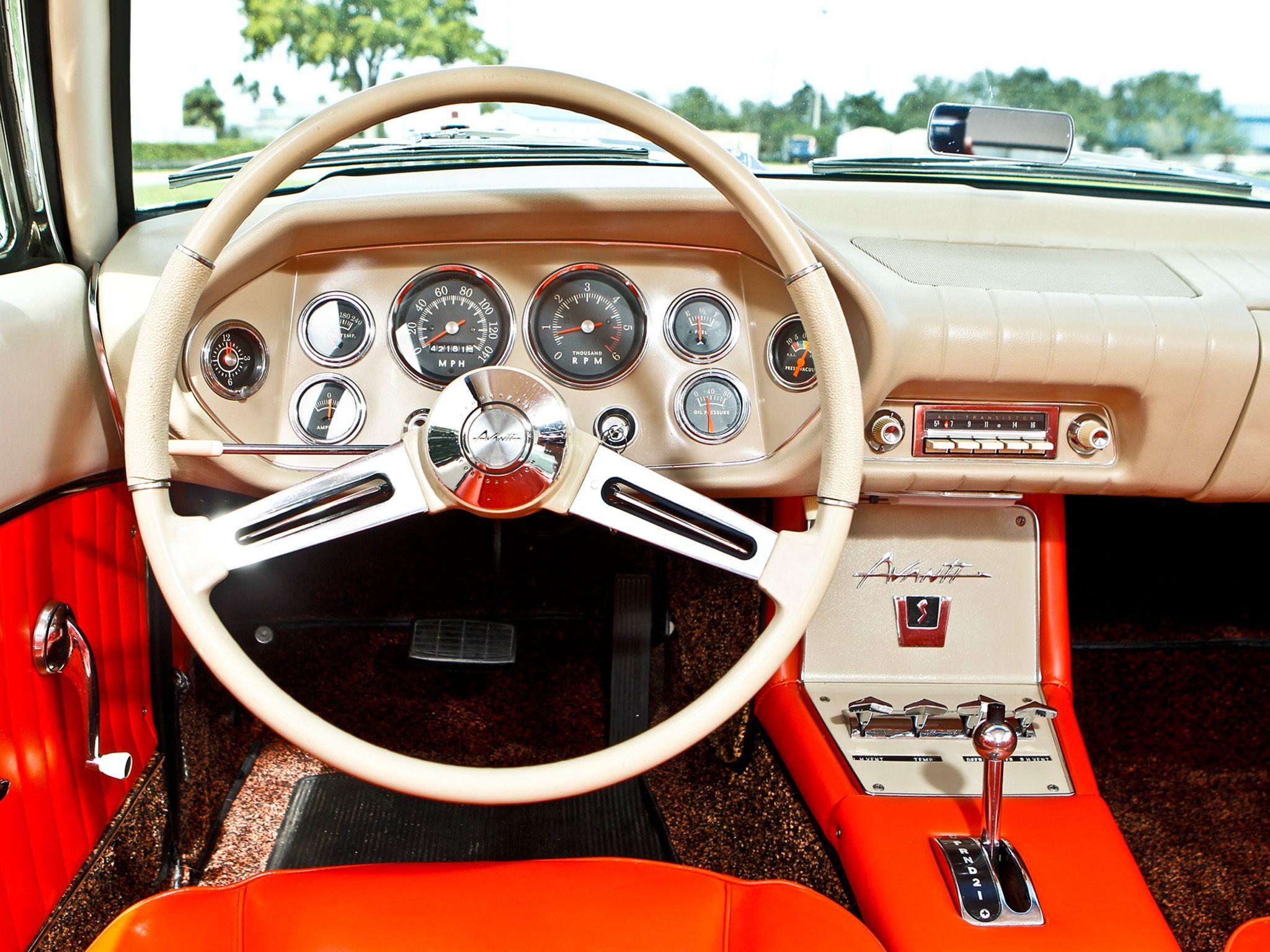 1963 studebaker avanti classic interior f wallpaper 2048x1536 114460 wallpaperup