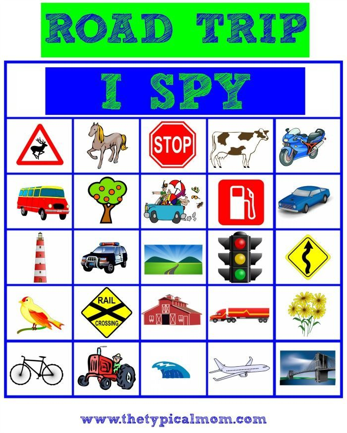 461a6083aa97 Free printable I SPY road trip game is great to keep kids busy while you re  on a road trip. (ad)