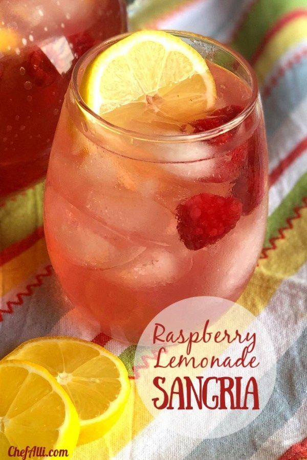 Raspberry Lemon Sangria