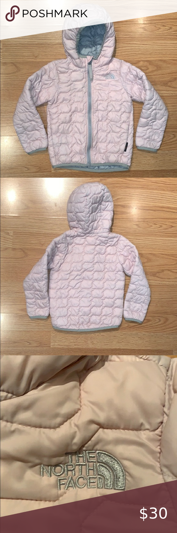 North Face Pink Thermoball Quilted Jacket 4t North Face Thermoball Jacket In Size 4t Pale Pink Isn North Face Thermoball Jacket Quilted Jacket The North Face [ 1740 x 580 Pixel ]