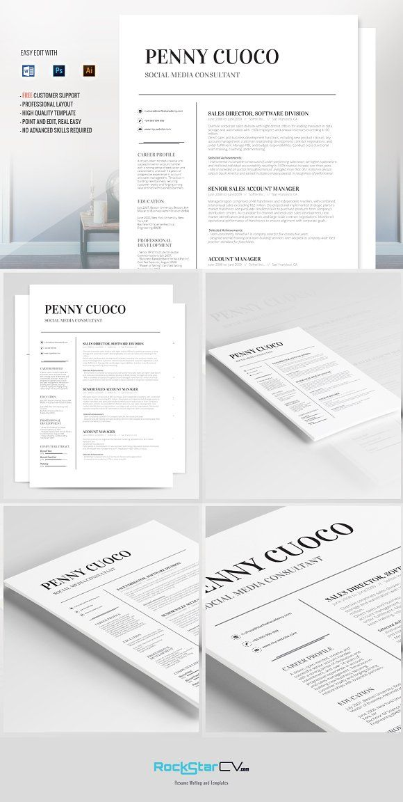 Resume Template Volantis Alpha Pinterest Template and Cv template