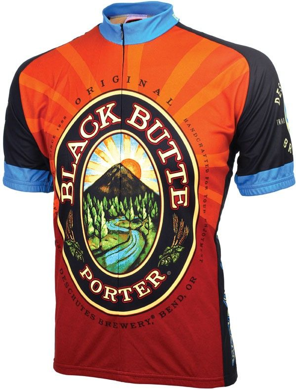 cd9d2f688 Cycling Jersey celebrating Black Butte Porter from Deschutes Brewery ...